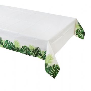 Truly Tropical Palm Leaf Table Cover